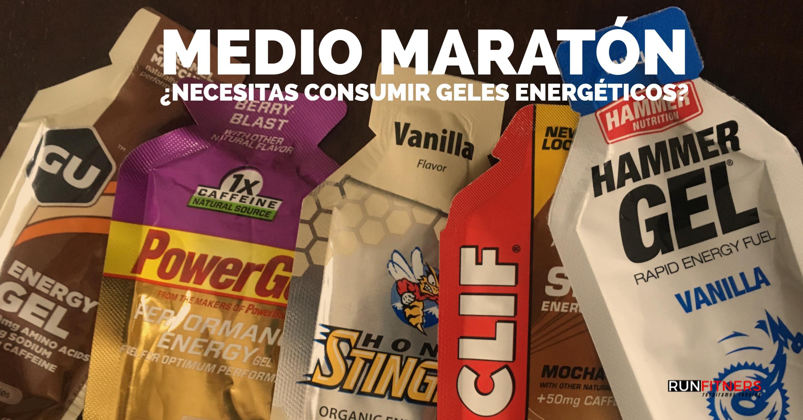 geles medio maratón