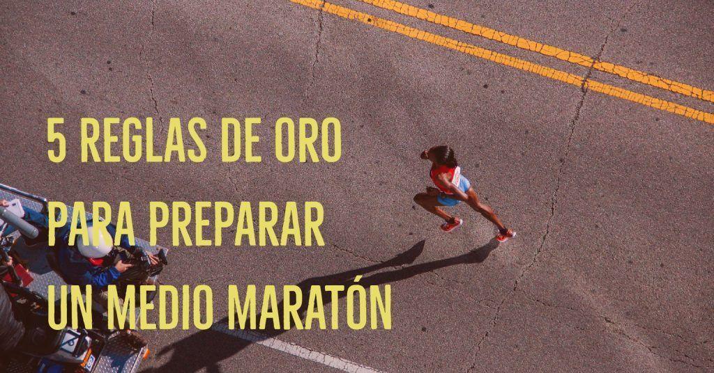 preparación medio maraton