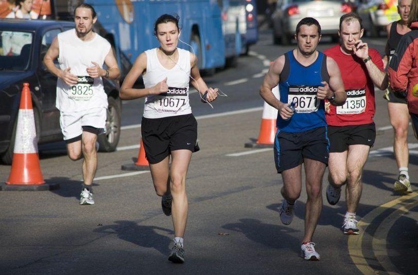maratón entrenamiento