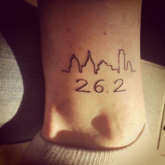 tatuaje maratón