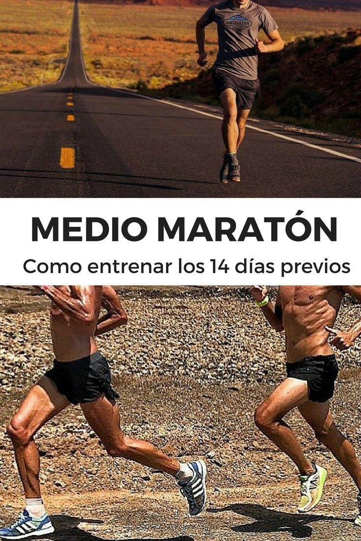 MEDIO MARATÓN SEMANAS PREVIAS