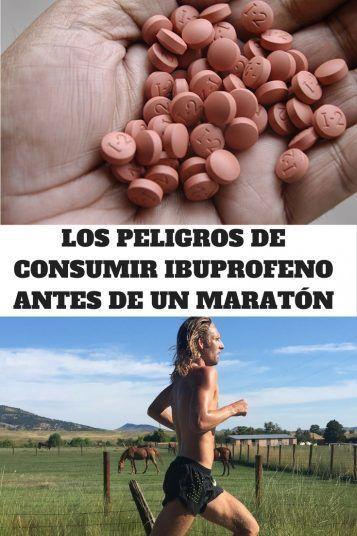 PELIGROS IBUPROFENO ANTES DE UN MARATÓN