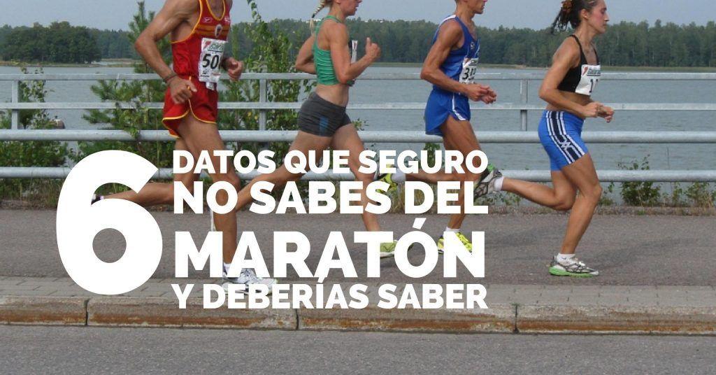 cosas maraton
