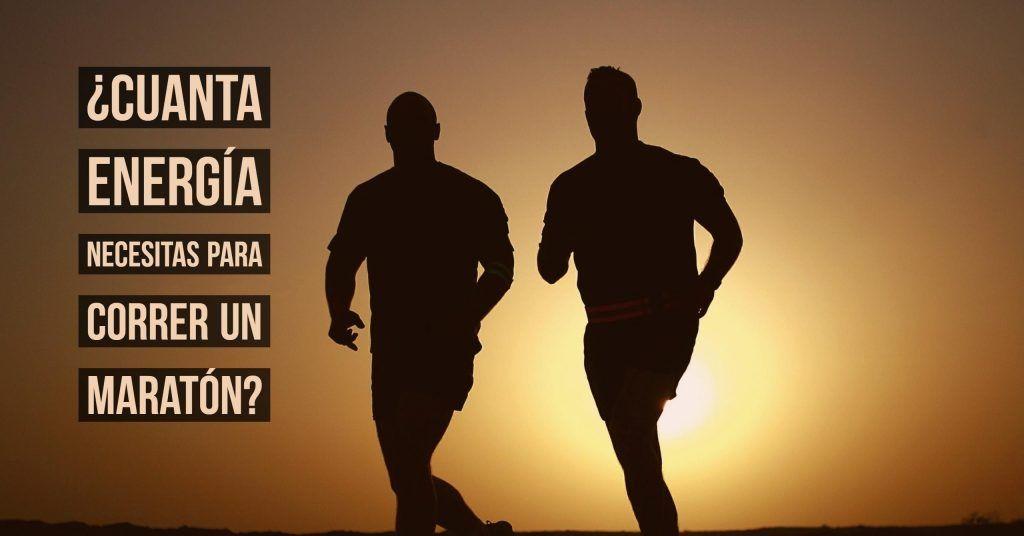 cuanta energia maratón