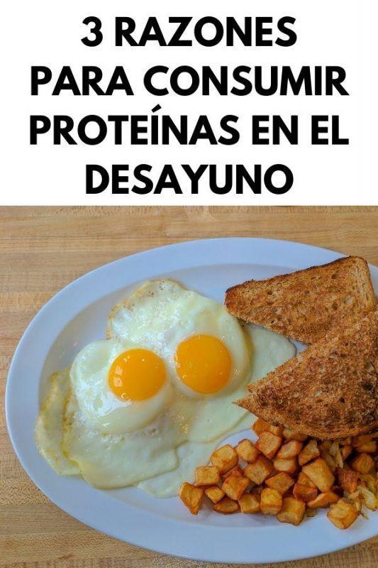 3 Razones para consumir PROTEÍNAS en el desayuno 1