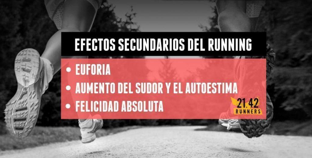efectos secundarios del running