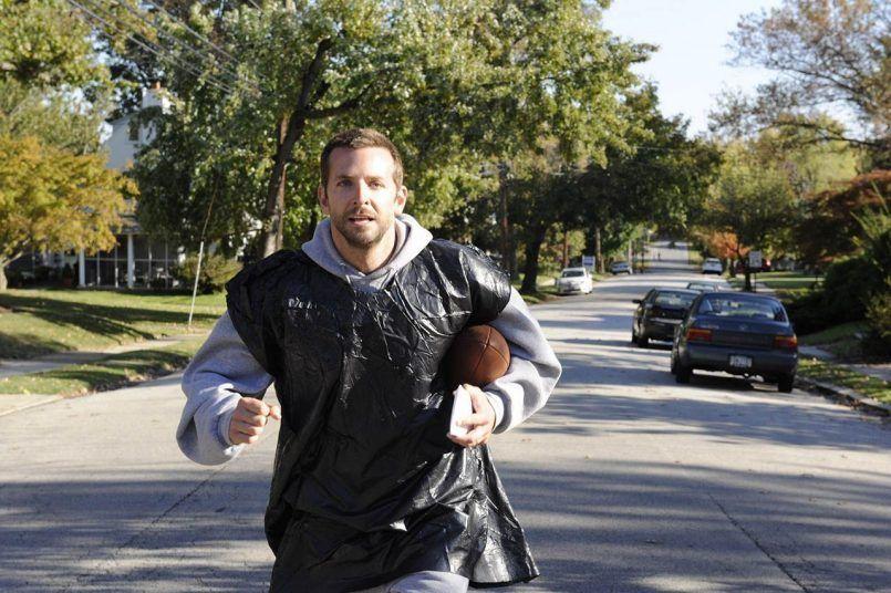 corriendo con bolsas