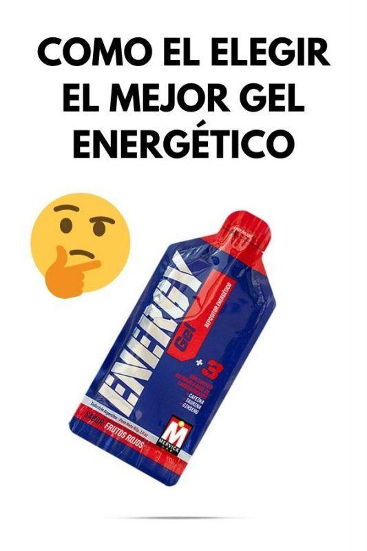 Como el elegir el mejor GEL ENERGÉTICO
