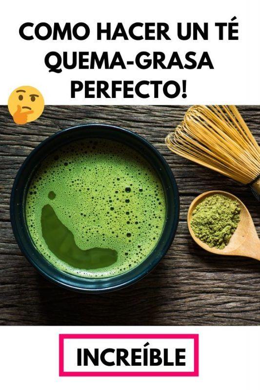 Como hacer un TÉ QUEMA-GRASA perfecto!