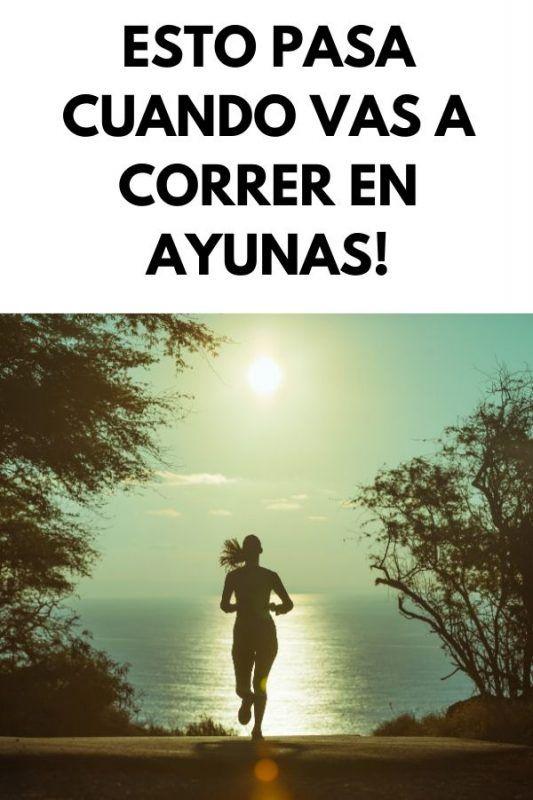 Esto pasa cuando vas a CORRER EN AYUNAS!
