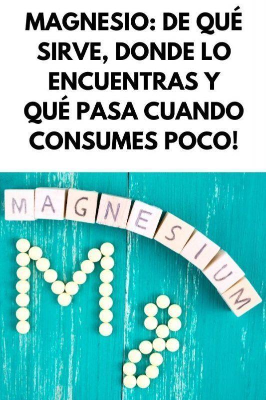 Magnesio VALORES FUNCIONES Y PELIGROS