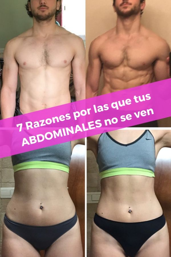 7 razones abdominales no se ven