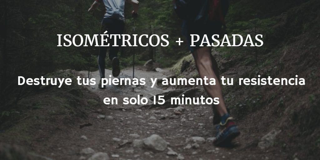 ISOMETRICOS Y PASADAS