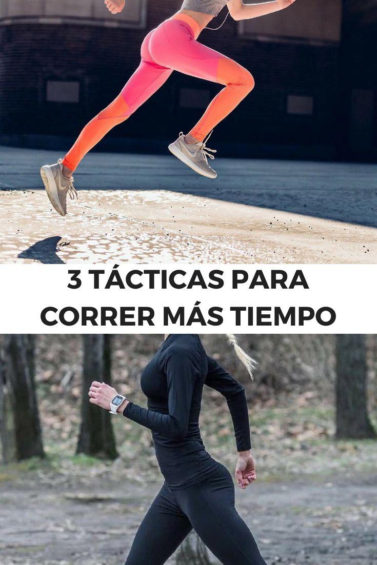 3 Tácticas para correr más tiempo