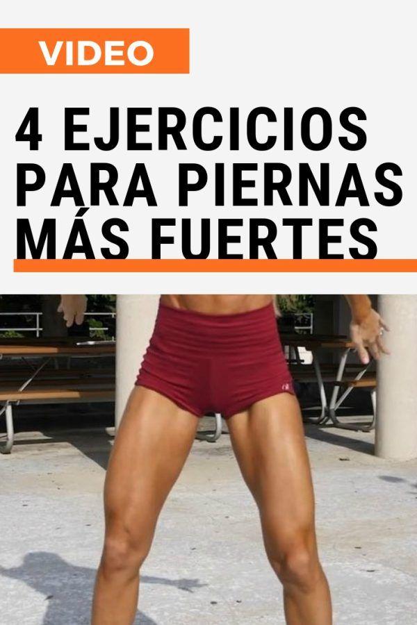Ejercicios para piernas mas fuertes