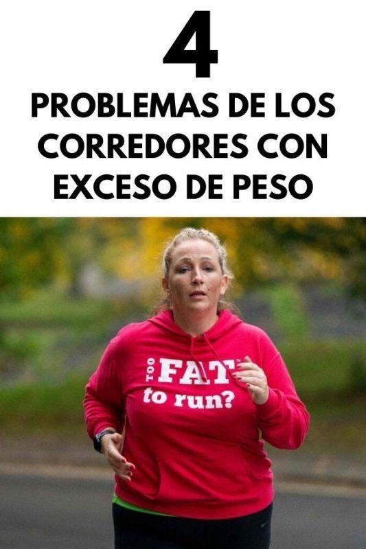 4 Problemas de los corredores con exceso de peso