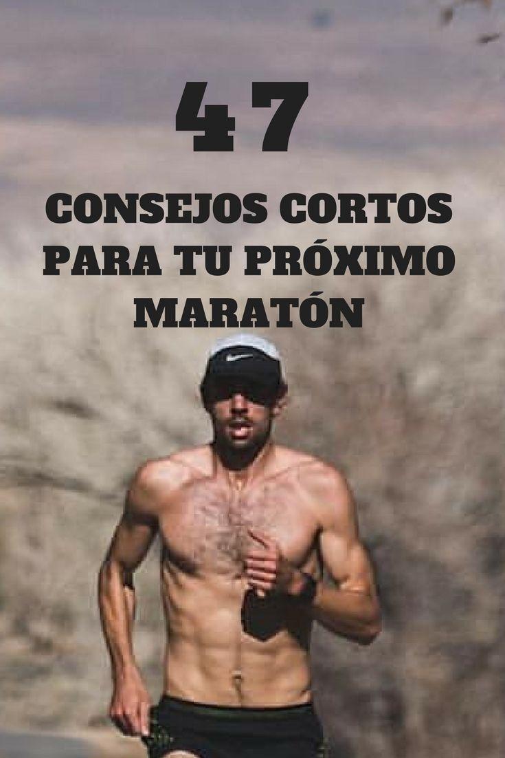 CONSEJOS CORTOS MARATON