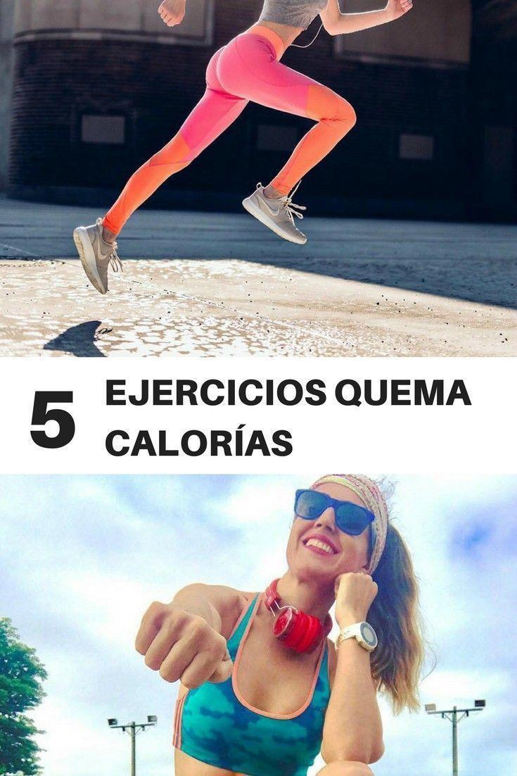 EJERCICIOS QUEMA CALORIAS