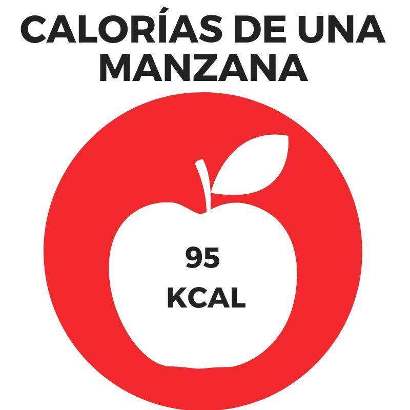 CALORÍAS DE UNA MANZANA