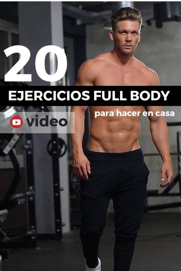 EJERCICIOS rutina FULL BODY