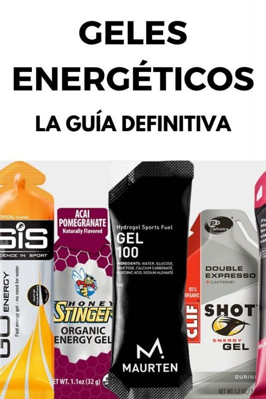 GELES ENERGETICOS GUIA