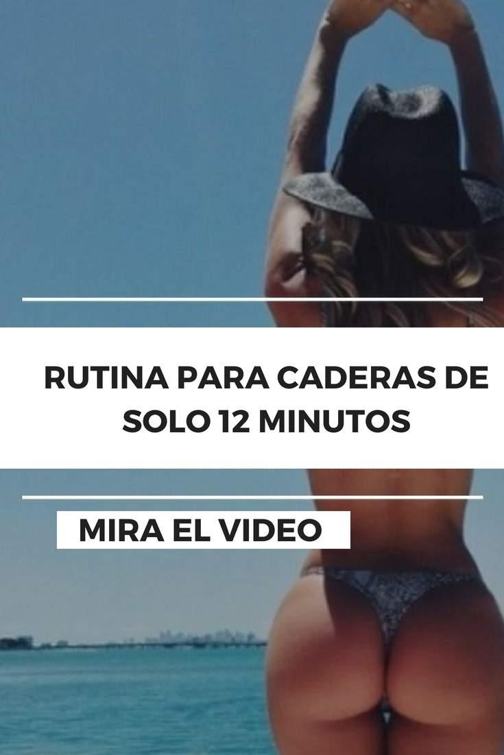RUTINA PARA CADERAS DE SOLO 12 MINUTOS