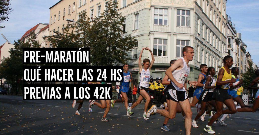 pre-maratón