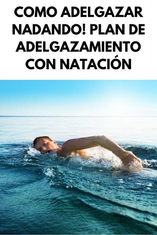 Como ADELGAZAR nadando