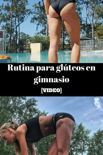 Rutina glúteos gimnasio VIDEO