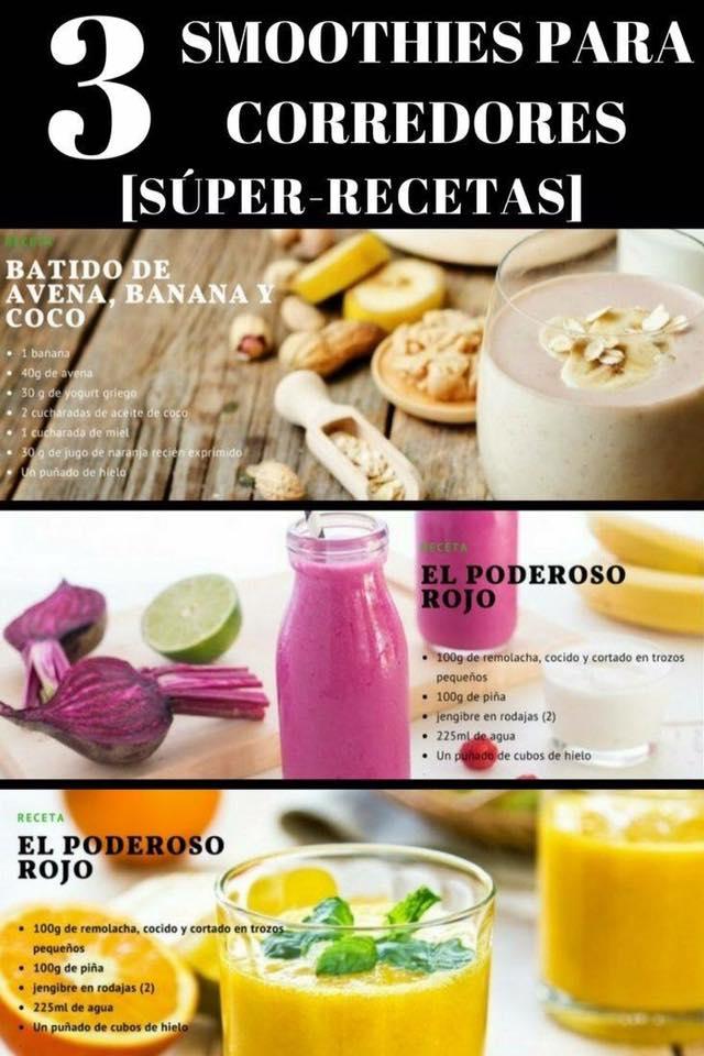 smoothies recetas