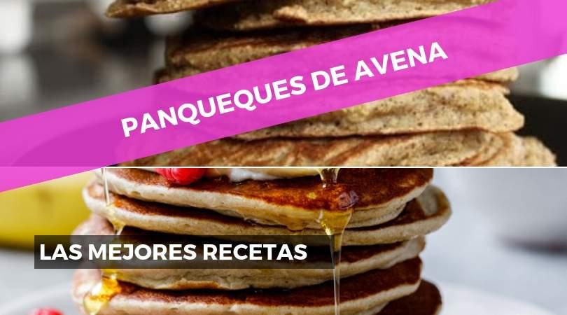 PANQUEQUES DE AVENA MEJORES RECETAS