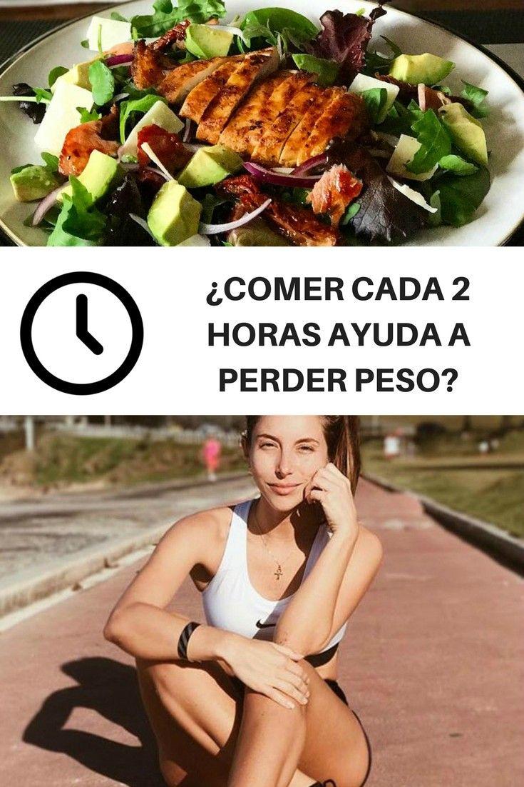 cada cuanto hay q comer para bajar de peso