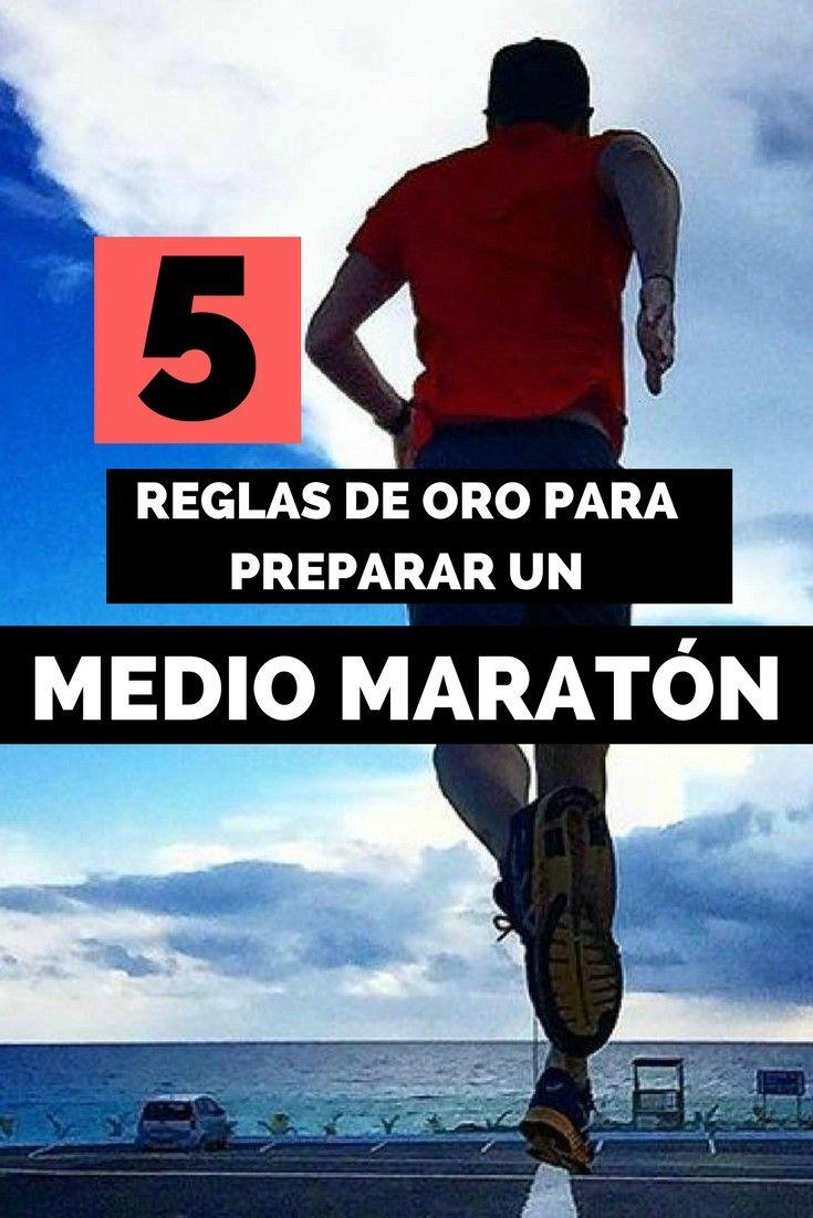 5 REGLAS DE ORO MEDIO MARATÓN