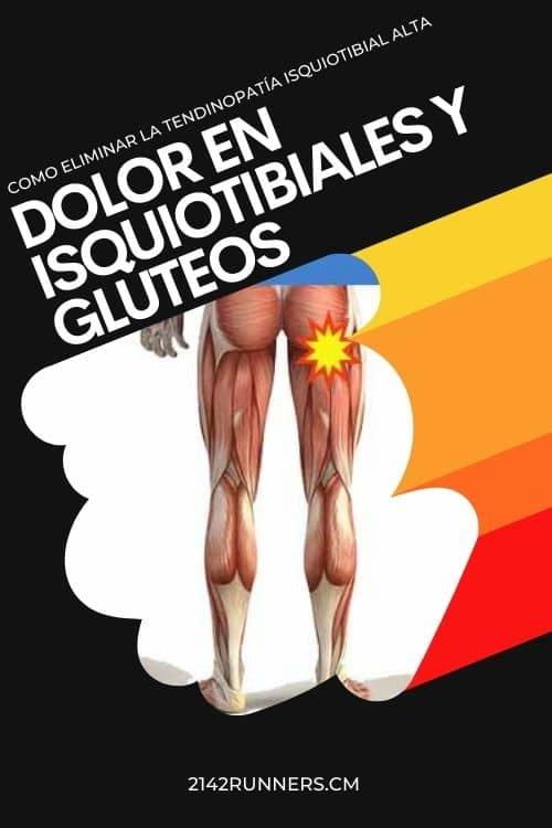 tendinitis isquiotibiales dolor gluteo