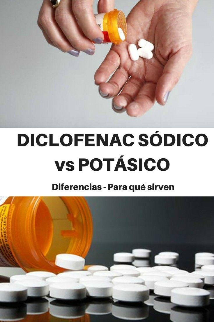 DICLOFENAC SÓDICO vs POTÁSICO