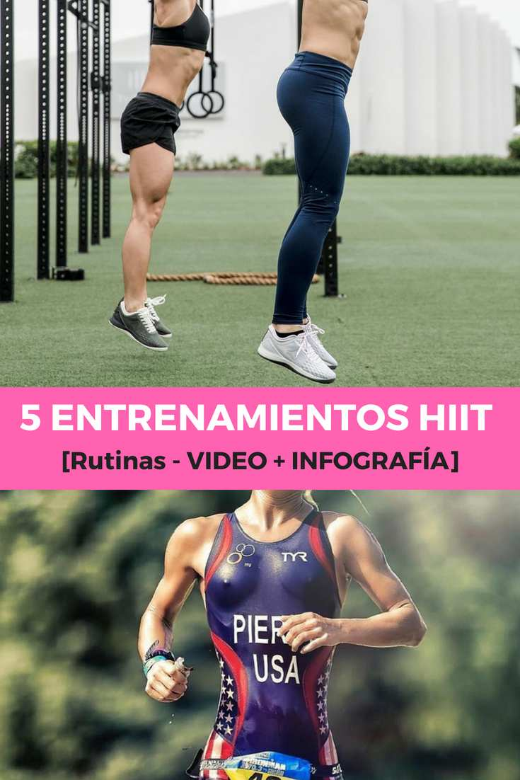 5 ENTRENAMIENTOS HIIT