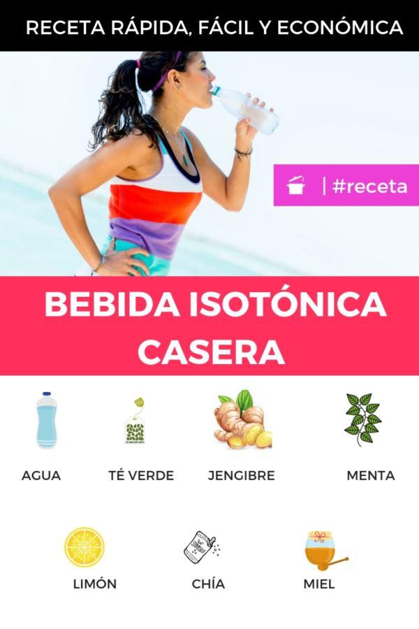 BEBIDA ISOTÓNICA CASERA