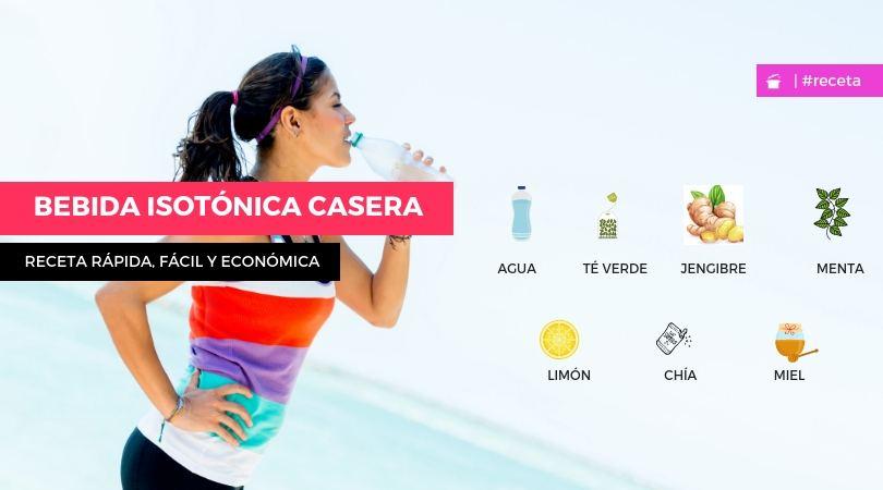 receta BEBIDA ISOTÓNICA CASERA