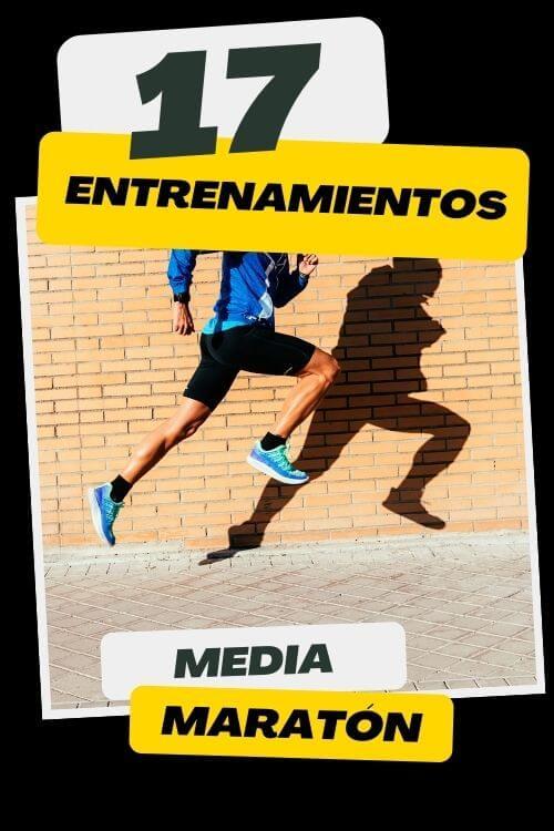 entrenamientos media maratón