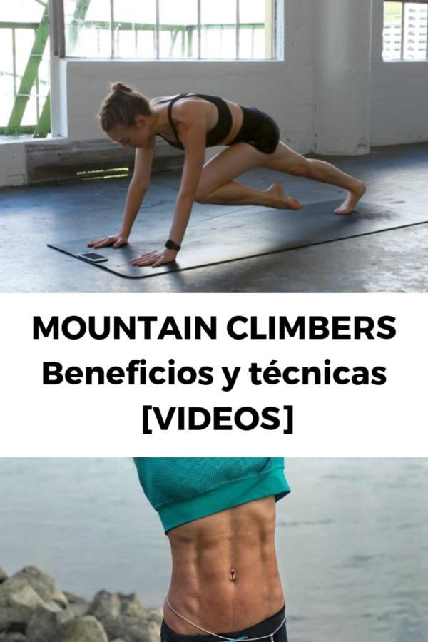MOUNTAIN CLIMBERS: Beneficios y técnicas [VIDEOS]
