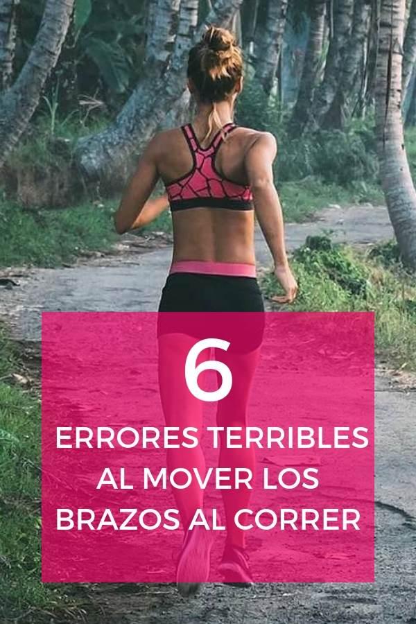 Errores TERRIBLES al mover los brazos al correr