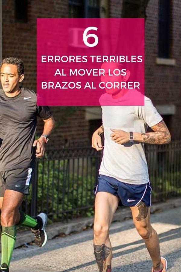 6 Errores TERRIBLES al mover los brazos al correr