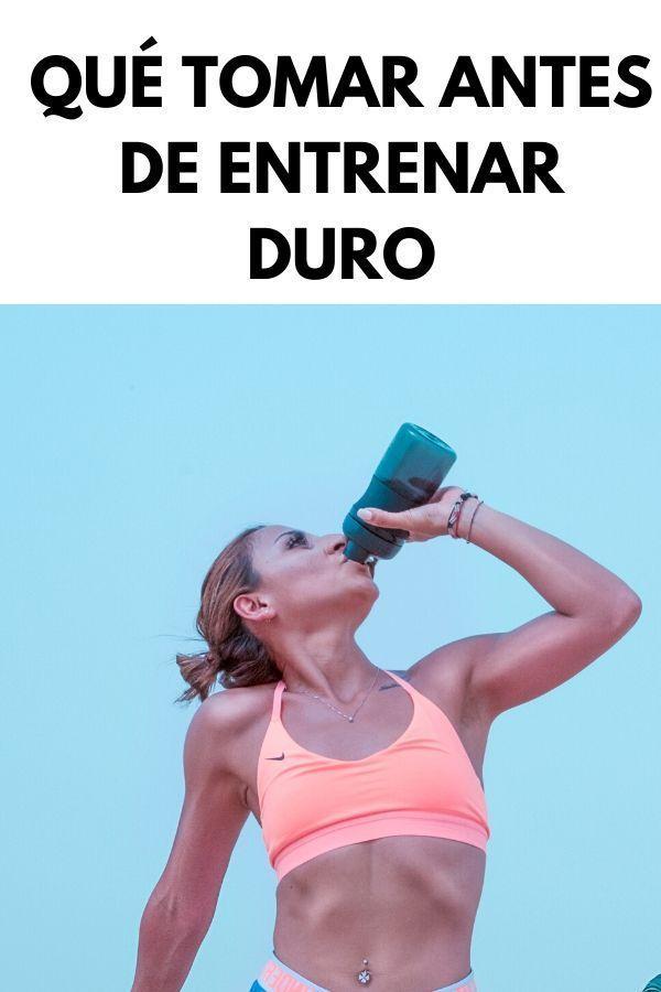 Qué tomar antes de entrenar DURO 1