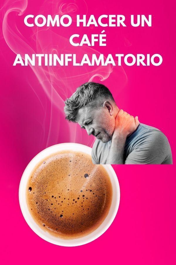 Como hacer un café antiinflamatorio