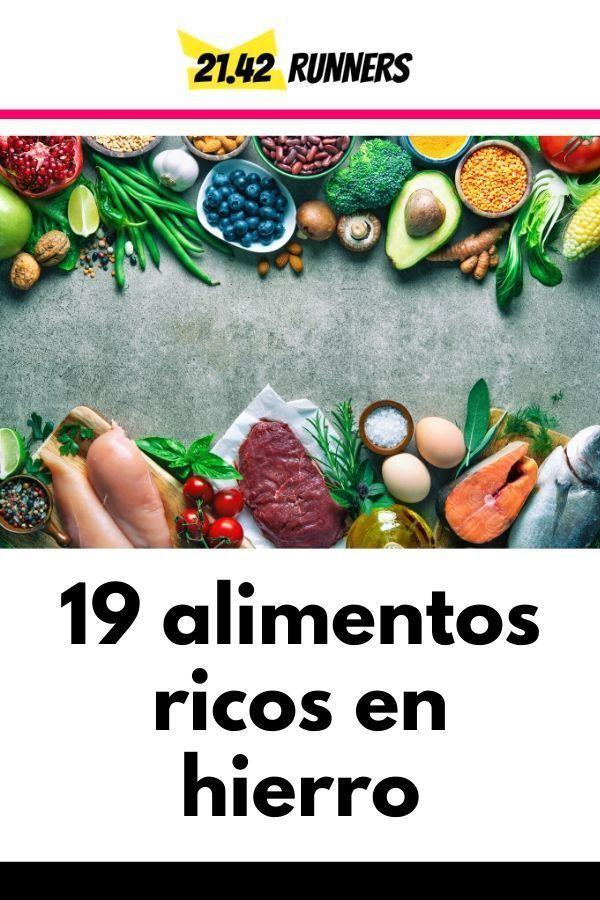 19 alimentos ricos en hierro