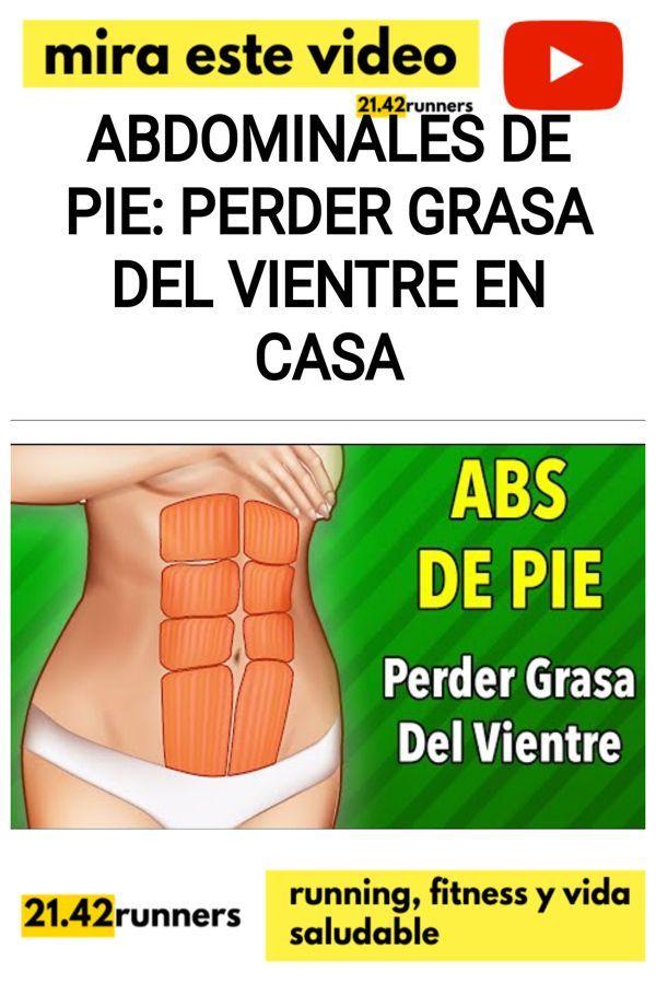 Abdominales De Pie: Perder Grasa Del Vientre En Casa
