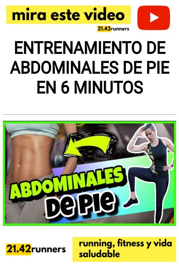 Entrenamiento de ABDOMINALES DE PIE en 6 minutos