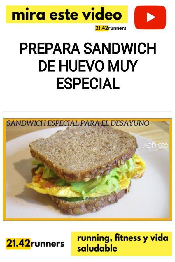 Prepara SANDWICH DE HUEVO muy especial
