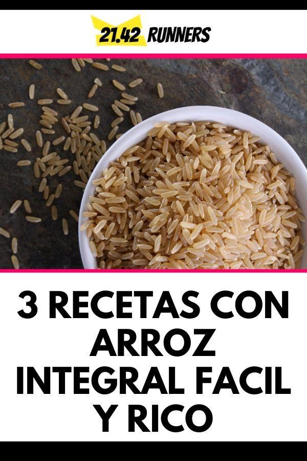 recetas con arroz integral