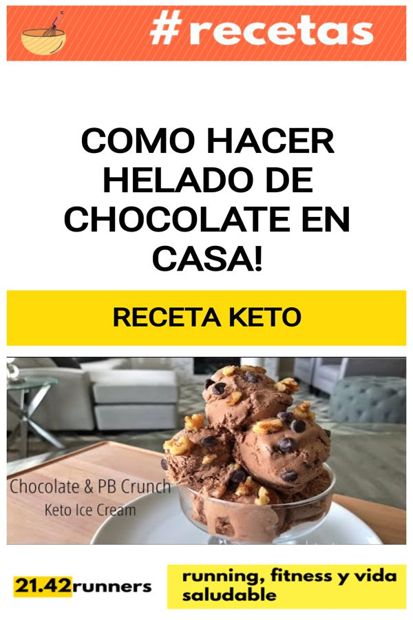 Como hacer HELADO de chocolate en casa!